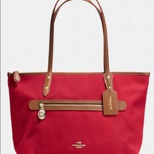 Coach canvas Sawyer tote